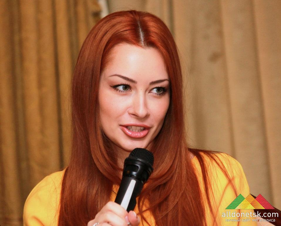 Главный редактор журнала «Самые красивые украинки» Ольга Внукова