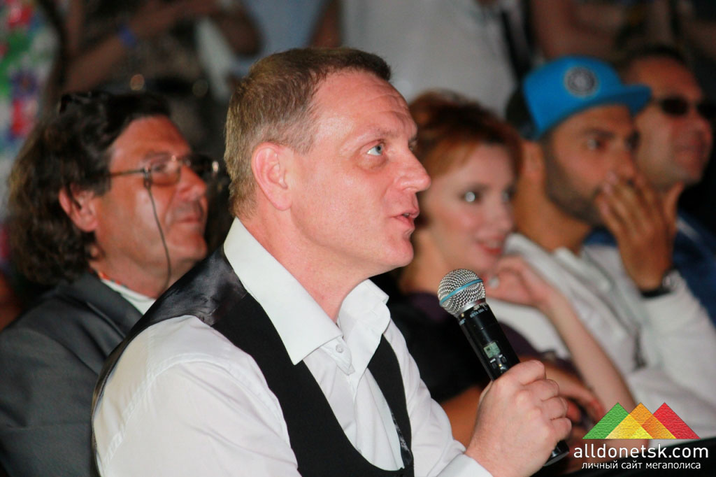 Член жюри, генеральный директор ТРК «Донбасс» Юрий Сугак