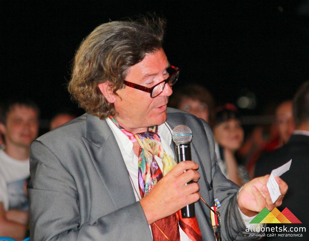 Член жюри, французский парфюмер и винодел Кристоф Ля Клэр