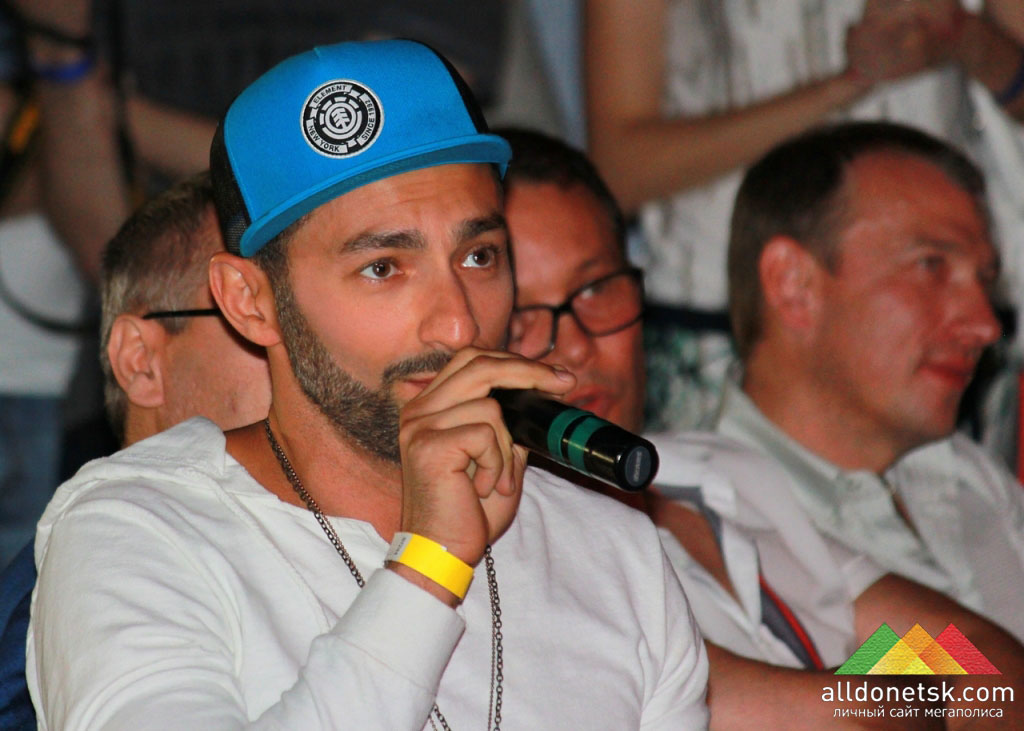 Член жюри, певец, телеведущий Андрей Kishe