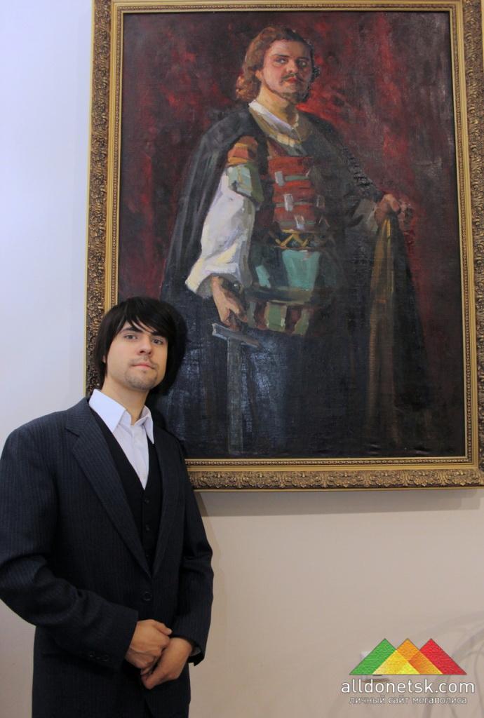 Заслуженный артист Александр Кока в образе Петра І