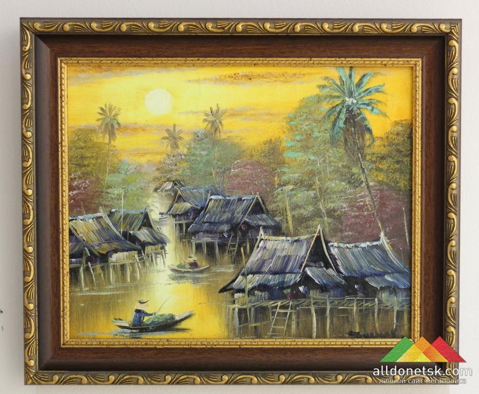 Неизвестный тайский художник.