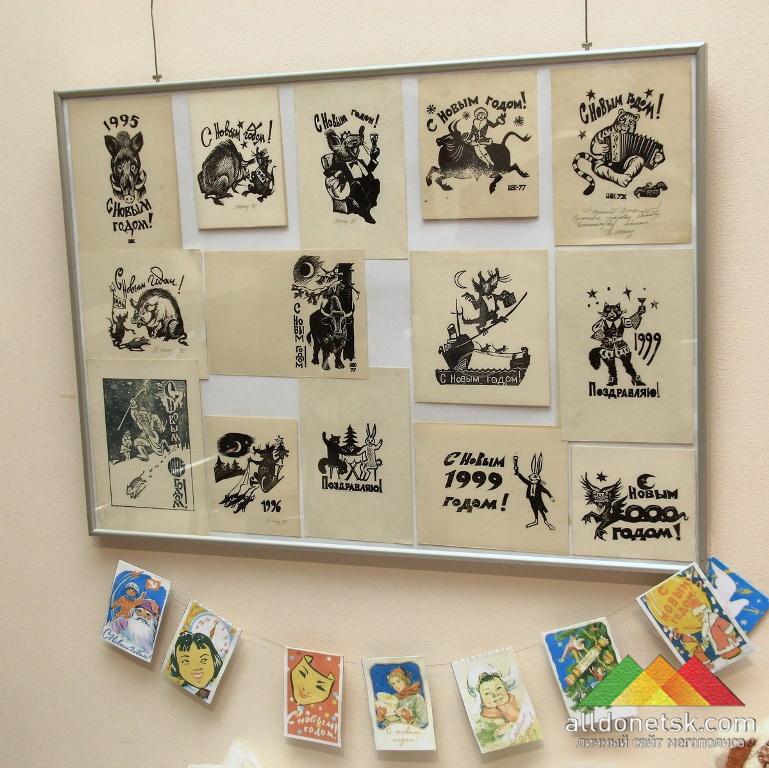 Авторские открытки Народного художника Украины Владимира Шенделя