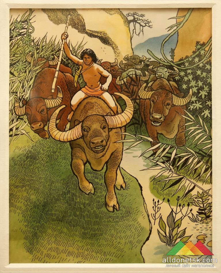 Садков П.П. Иллюстрация к сказке Р.Киплинга