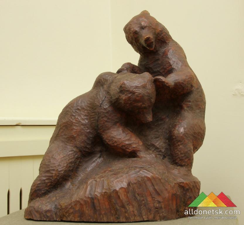 Ватагин В.А. Медведи играющие. 1925 г.