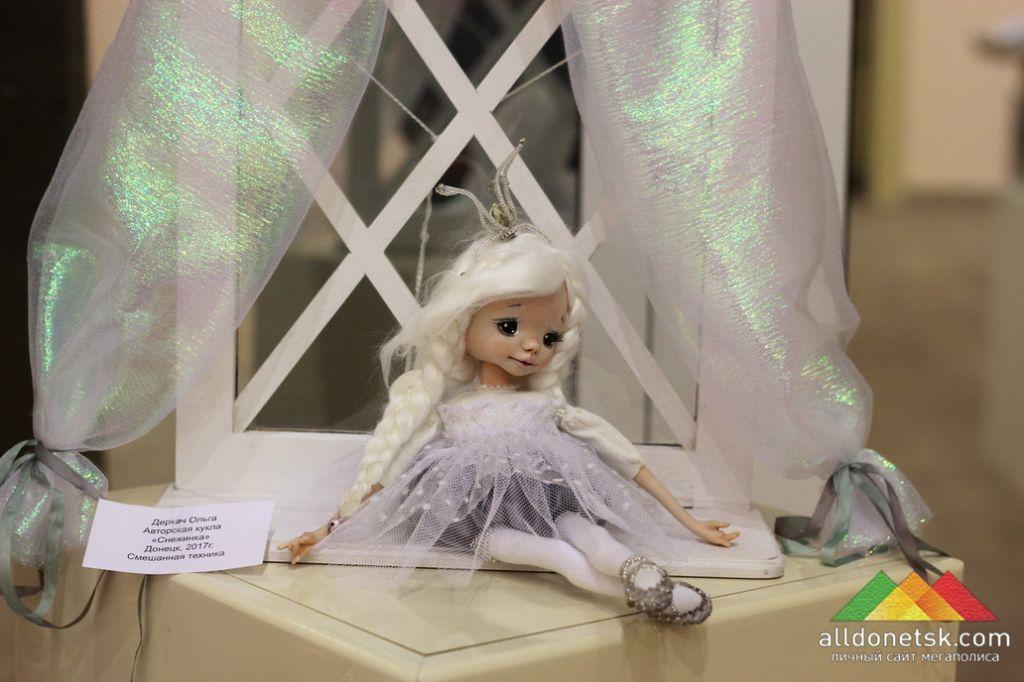 Деркач Ольга. Авторская кукла