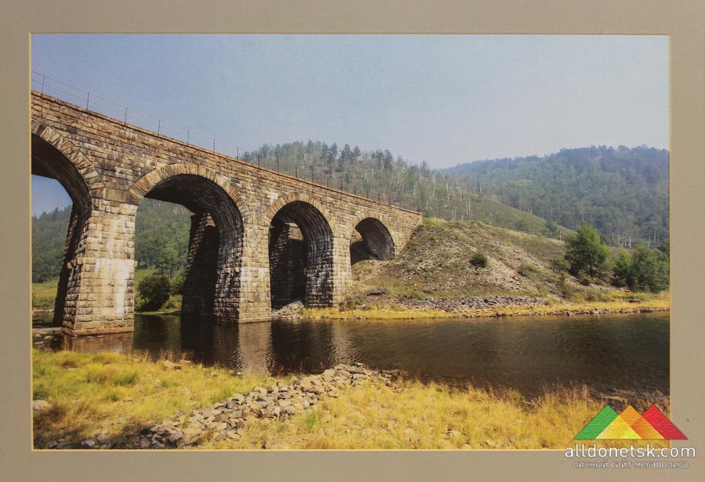 Артем Поваров. Итальянский мост через реку Англосолка, Байкал (Россия)