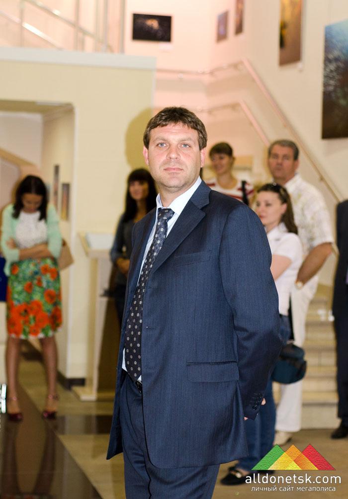 Константин Савинов, начальник Главного управления благоустройства и коммунального обслуживания Донецка