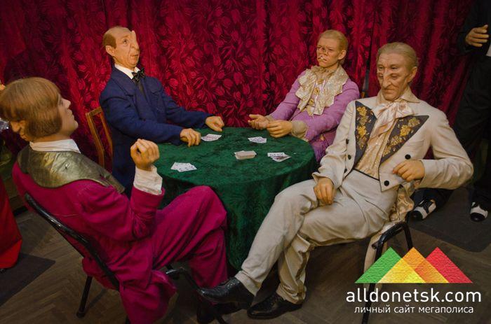Лига выдающихся джентльменов собралась за одним столом