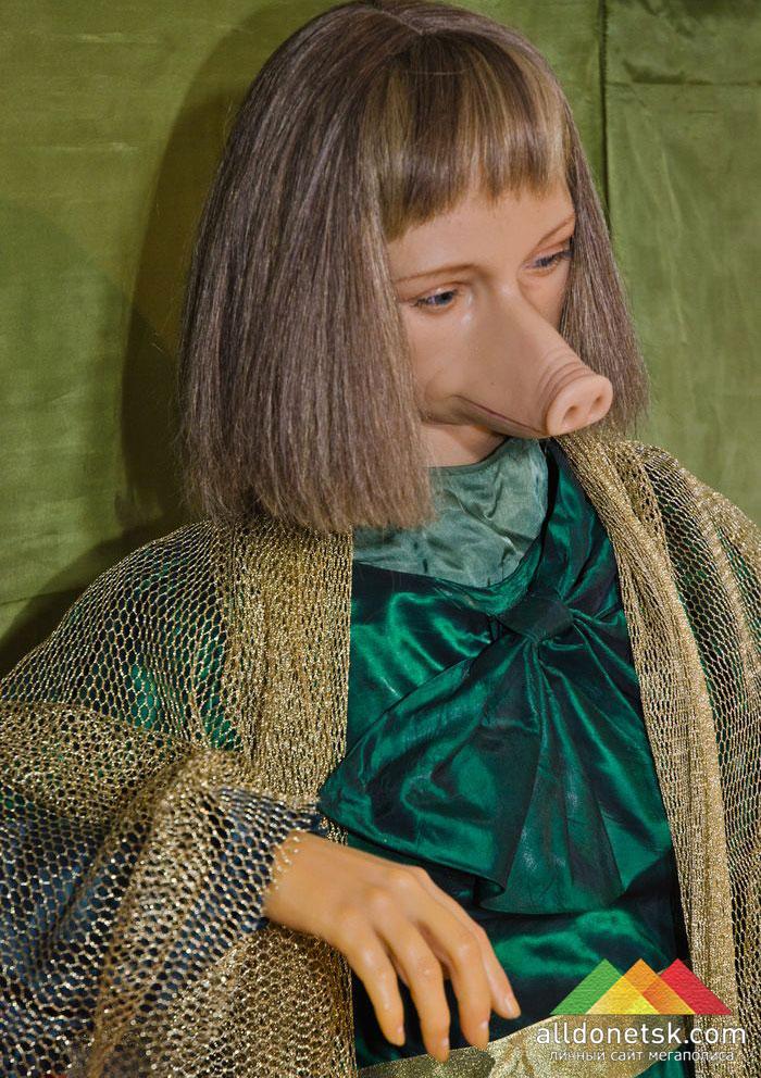 Мираида Портленд, женщина-свинья, родившаяся у нормальных родителей и прожившая 25 лет