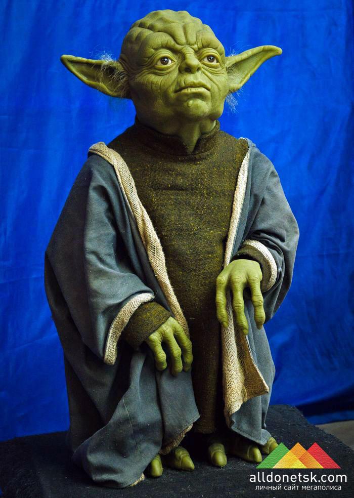 И приятный сюрприз - Мастер Йода, мудрый и спокойный, как всегда