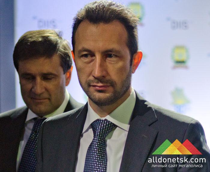 Председатель Донецкого областного совета Андрей Федорук