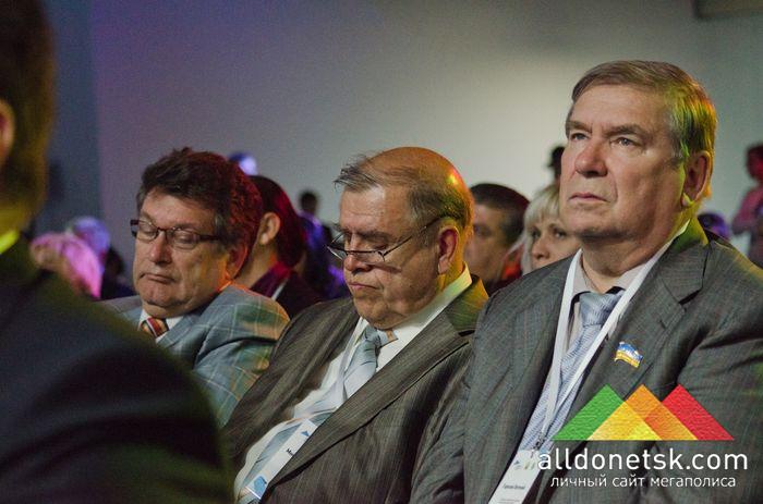 Среди участников саммита ректор ДоНТУ Александр Анатольевич Минаев
