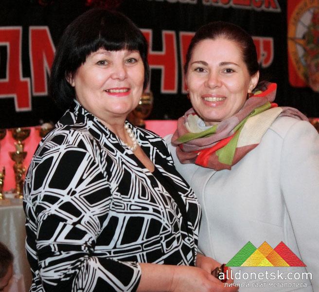 Председатель клуба Чаплыгина Надежда Иосифовна с дочерью
