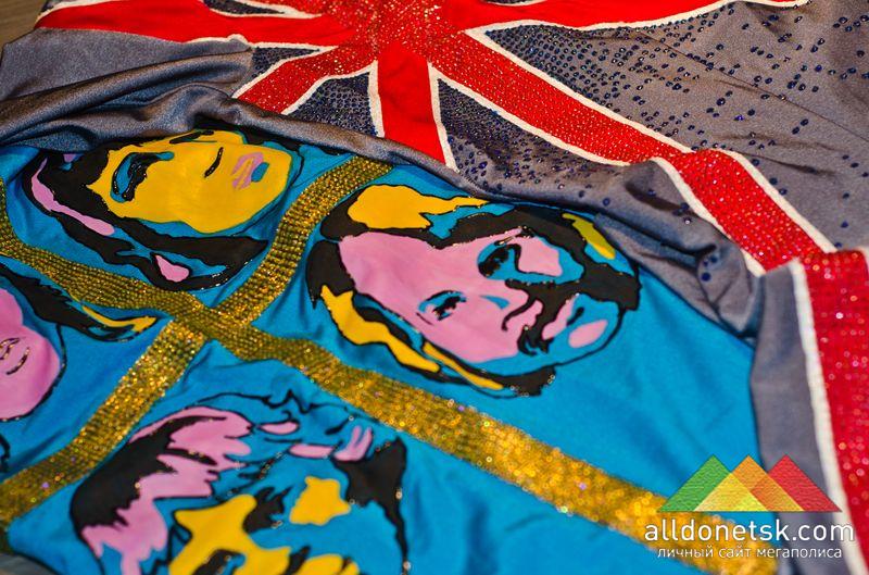 А что еще вы ожидали увидеть в Ливерпуле? Британский флаг и музыкальные символы 20-го века
