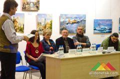 В АртДонбассе прошел первый брифинг с авторами