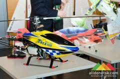 В донецком аэропорту открылась выставка авиамоделей