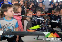 В донецком аэропорту открылась выставка авиамоделей (часть 2)