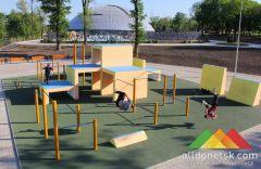 В Донецке открылся новый экстрим-парк