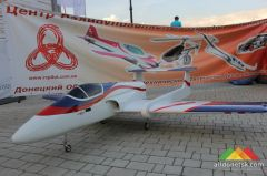 В Донецке состоялось Авиа-Аква шоу