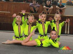 Открытое первенство по спортивной акробатике в рамках Года детского творчества