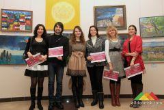 Открытие выставки работ молодых художников