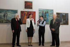 Открытие выставки «Эхо военных лет»