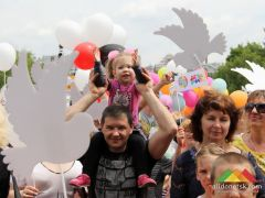 Марш мира в Донецке