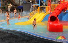 В Донецке снова заработал аквапарк