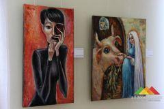 Выставка работ Равиля Акмаева в Донецком художественном музее