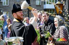 Вербное воскресенье в Донецке