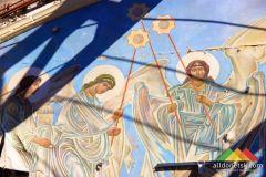 Пасхальная литургия в Свято-Иверском женском монастыре