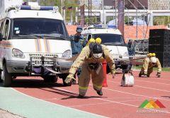 Первый Открытый чемпионат Донецкой Народной Республики по пожарному кроссфиту (часть 1)