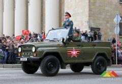 Парад в честь Дня Победы. Донецк, май 2017