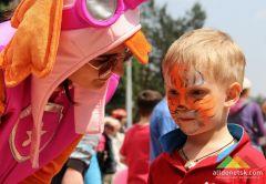 День защиты детей в Донецке