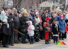 Вербное воскресенье в Донецке (2018 г.)