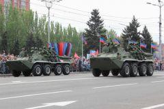 Парад Победы в Донецке (9 мая 2018)