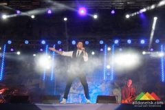 День железнодорожника в Донецке (концерт)