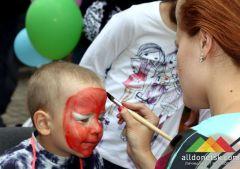 Как в Донецке отпраздновали День защиты детей