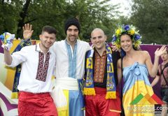 Самые яркие моменты ЕВРО-2012 в Донецке в фотографиях