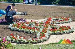 Районы Донецка готовятся к городской выставке цветов