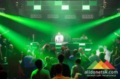 David Vendetta выступил в донецком ночном клубе Shakhtar Plaza