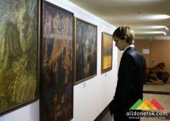 В АртДонбассе состоялось открытие выставки современной живописи