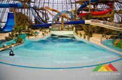 В Донецке состоялось открытие Донецкого аквапарка