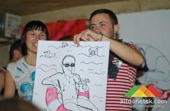 Первый цветной арт-баттл прошел в Донецке под знаком осени