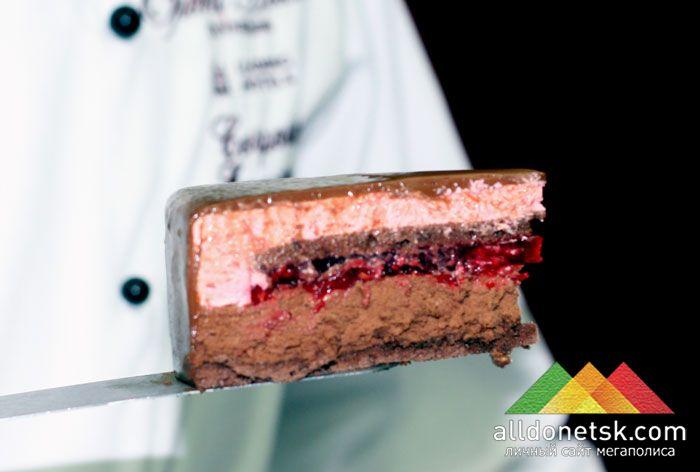 торт a la cart в разрезе