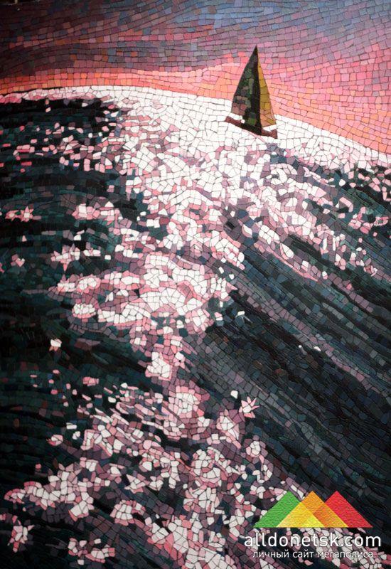 Анатолий Ганкевич. Япония, 2011. Холст, масло 200х130 см