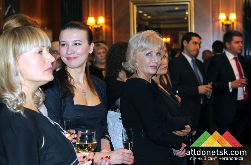 Раньше всех встретить Новый год в гостинице Донбасс Палас прибыли члены ЕБА и почетные гости