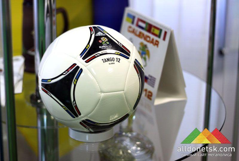 Мяч Танго-12 станет мячом фубольного турнира ЕВРО-2012