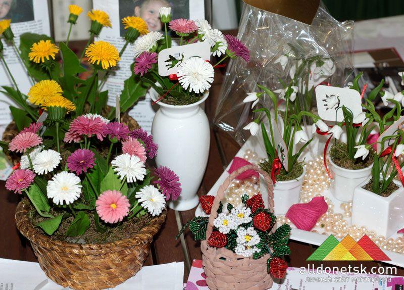Только настоящий мастер может создать такие цветы, которые нереально отличить от букета живых цветов!